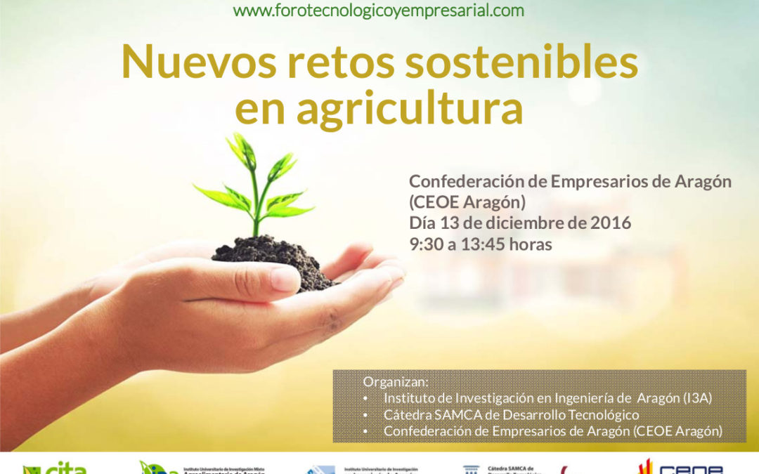 "LIFE AgriAdapt participates in the ""New sustainable challenges in agriculture"" Forum"