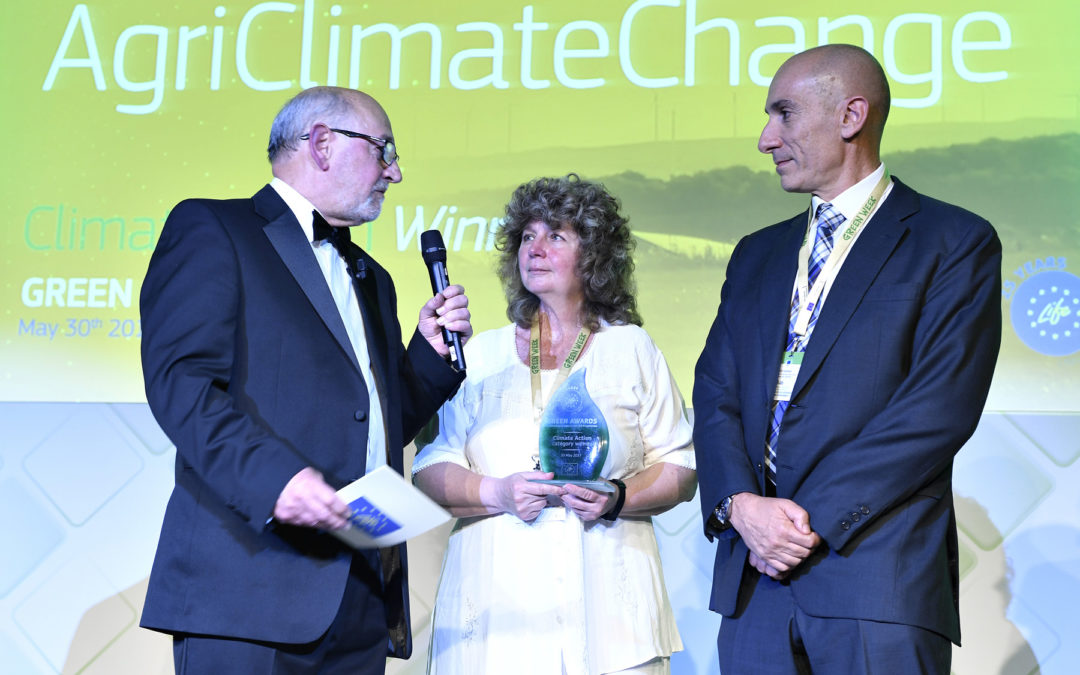 AgriClimateChange wins Green Award