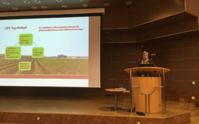 At the conference that took place at the University of Life Sciences the importance of adaptability to climate change in crop production was underscored.