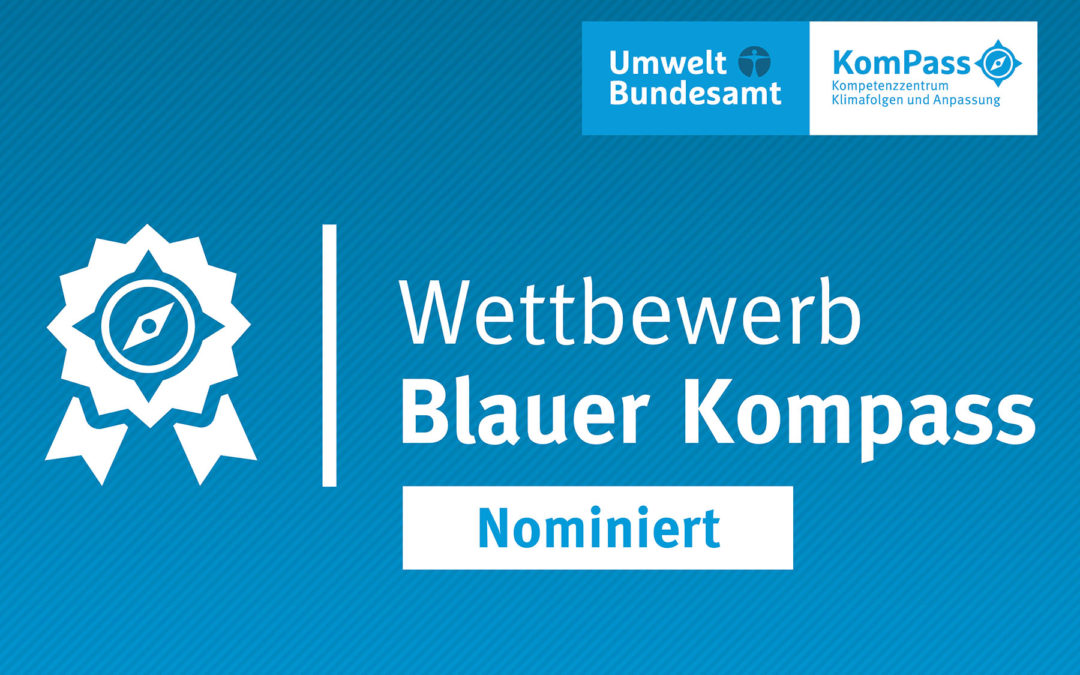 "LIFE AgriAdapt nominated for the environmental award ""Blauer Kompass"""