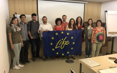 MEETING OF EXCHANGE OF EXPERIENCES BETWEEN PROJECTS: LIFE NADAPTA AND LIFE AGRIADAPT