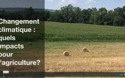Vidéo: regards d'experts sur l'adaptation de l'agriculture au changement climatique.