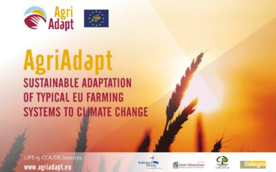LIFE Agriadapt, technical meeting in Brussels (15th of october 2018)