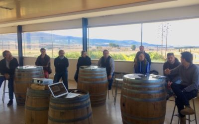 LIFE AgriAdapt organizes a workshop with winegrowers of Terres dels Alforins