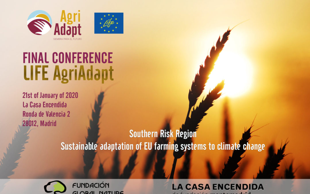 LIFE AgriAdapt, a project about adaptation to climate change, holds its Final Conference in Madrid