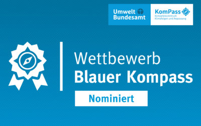 "LIFE AgriAdapt again nominated for the ""Blue Compass"" award of the German Federal Environment Agency"