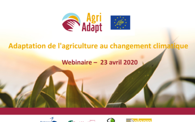 Webinaire pour l'outil web LIFE AgriAdapt (AWA)
