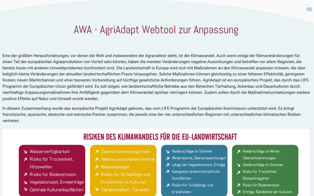 Webinar for the Webtool
